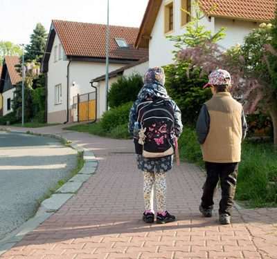 child custody kids going to school
