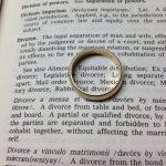 divorce attorney papers